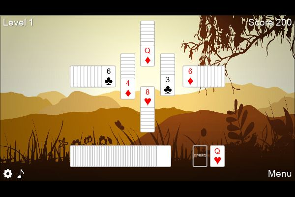 6 Peaks Solitaire 🕹️ 🃏 | Free Cards Puzzle Browser Game - Image 3