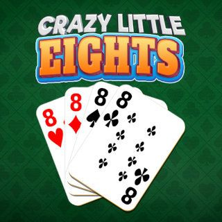 Jugar Crazy Little Eights  🕹️ 🃏