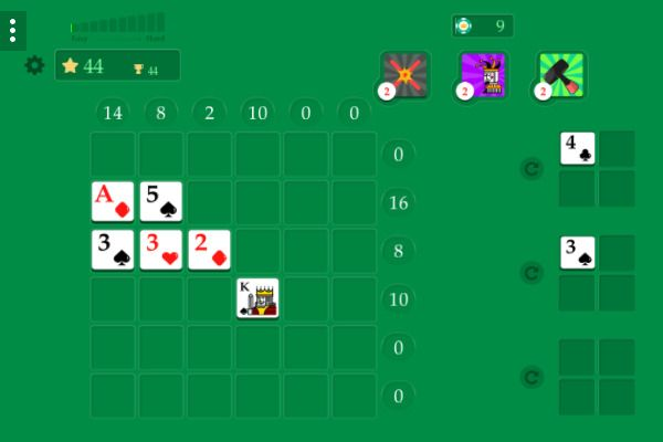 Crossover 21 🕹️ 🃏 | Free Cards Logic Browser Game - Image 1