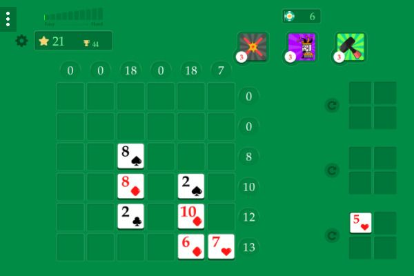 Crossover 21 🕹️ 🃏 | Free Cards Logic Browser Game - Image 3