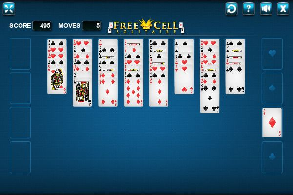 FreeCell 🕹️ 🃏 | Free Cards Logic Browser Game - Image 2