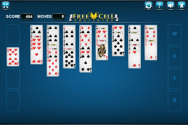 FreeCell 🕹️ 🃏 | Free Cards Logic Browser Game - Image 3