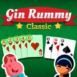 Play Gin Rummy Classic  🕹️ 🃏