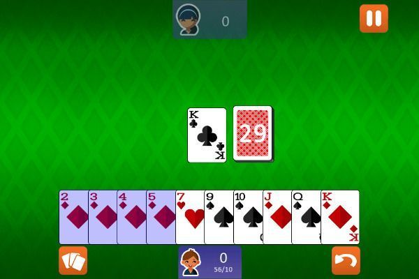 Gin Rummy Classic 🕹️ 🃏 | Free Cards Skill Browser Game - Image 3