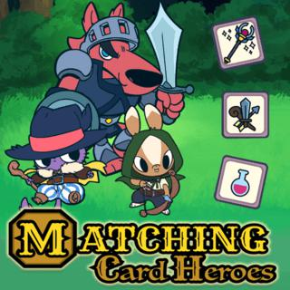 Play Matching Card Heroes  🕹️ 🃏