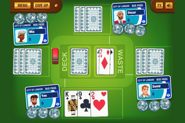 Stop The Bus 🕹️ 🃏 | Free Cards Strategy Browser Game - Image 1