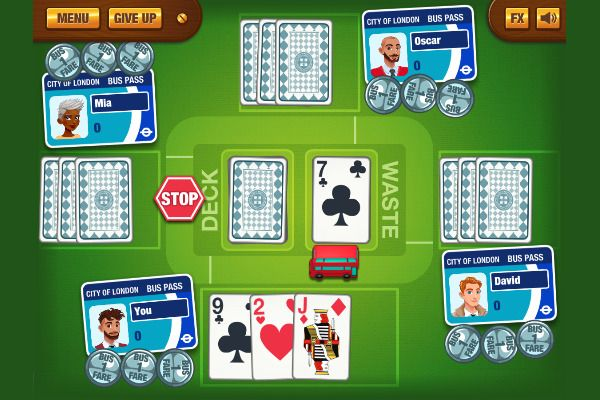 Stop The Bus 🕹️ 🃏 | Free Cards Strategy Browser Game - Image 3