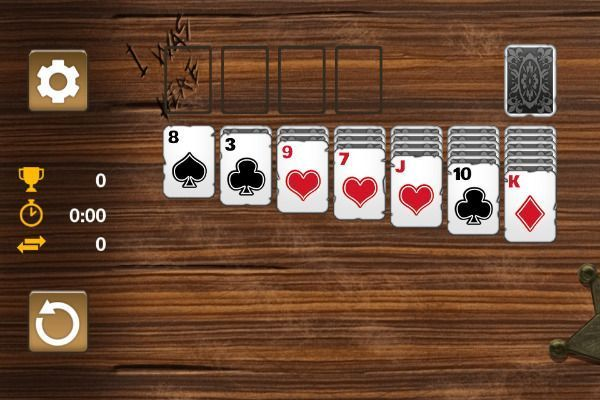 Western Solitaire 🕹️ 🃏 | Free Cards Browser Game - Image 1