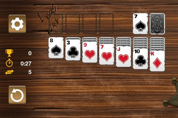 Western Solitaire 🕹️ 🃏 | Free Cards Browser Game - Image 2