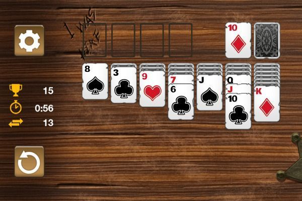 Western Solitaire 🕹️ 🃏 | Free Cards Browser Game - Image 3