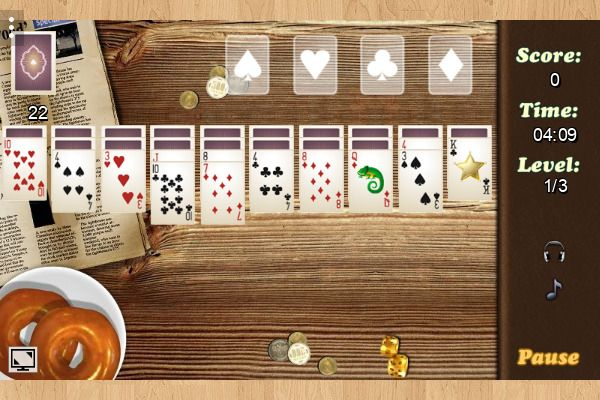 Wild West Solitaire 🕹️ 🃏 | Gioco per browser di carte casual - Immagine 1