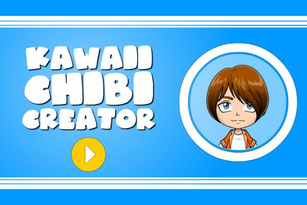 Kawaii Chibi Creator 🕹️ 🏖️ | Free Casual Browser Game - Image 1