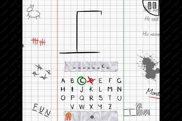 The Hangman Game Scrawl 🕹️ 🏖️ | Gioco per browser casual di logica - Immagine 3