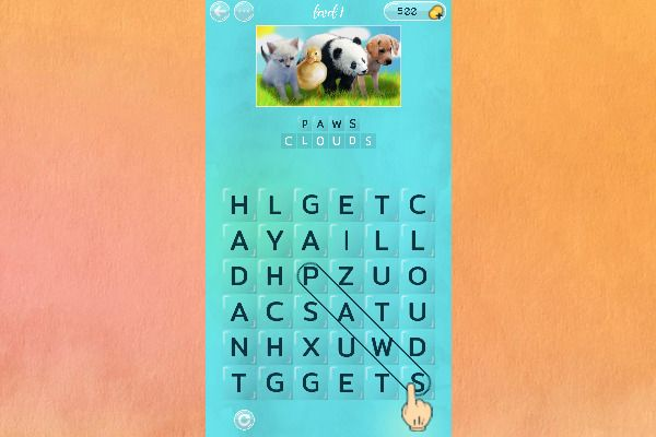 Word Search Pictures 🕹️ 🏖️ | Free Puzzle Casual Browser Game - Image 1