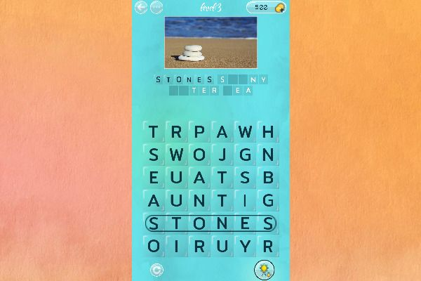 Word Search Pictures 🕹️ 🏖️ | Free Puzzle Casual Browser Game - Image 3