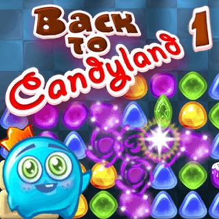 Gioca a Back To Candyland 1  🕹️ 🍬