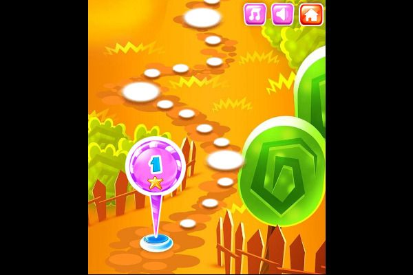 Back To Candyland 1 🕹️ 🍬 | Gioco per browser rompicapo match-3 - Immagine 1
