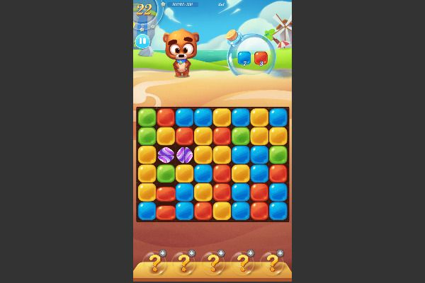 Bear Boom 🕹️ 🍬 | Free Puzzle Match-3 Browser Game - Image 1