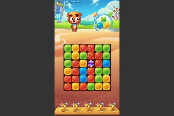 Bear Boom 🕹️ 🍬 | Free Puzzle Match-3 Browser Game - Image 2