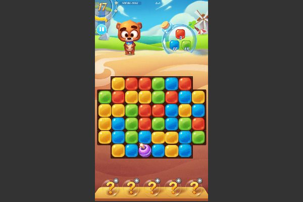 Bear Boom 🕹️ 🍬 | Free Puzzle Match-3 Browser Game - Image 3