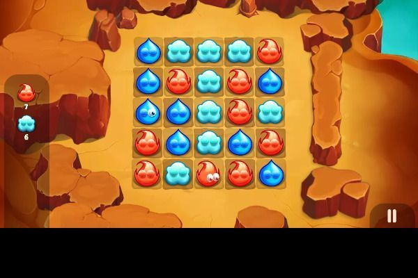 Blast Mania 🕹️ 🍬 | Free Puzzle Match-3 Browser Game - Image 1