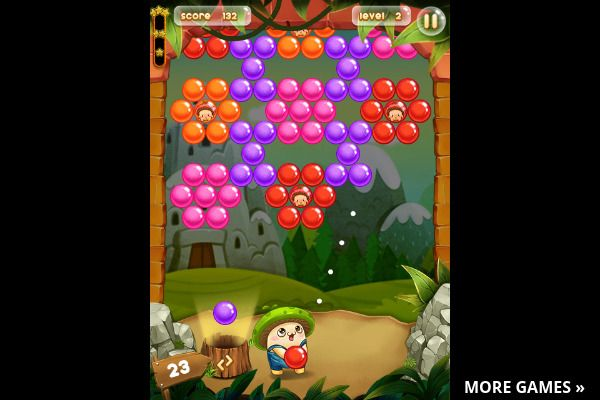Bubble Pop Adventures 🕹️ 🍬 | Gioco per browser arcade match-3 - Immagine 2