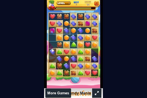 Candy Mania 🕹️ 🍬 | Free Puzzle Match-3 Browser Game - Image 3