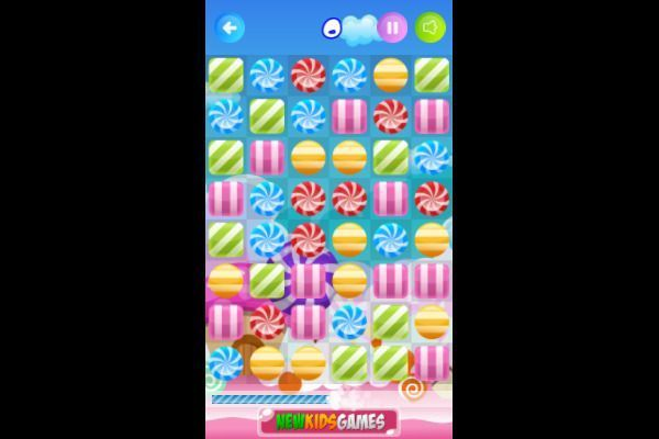 Candy Rush 🕹️ 🍬 | Puzzle Match-3 Kostenloses Browserspiel - Bild 2