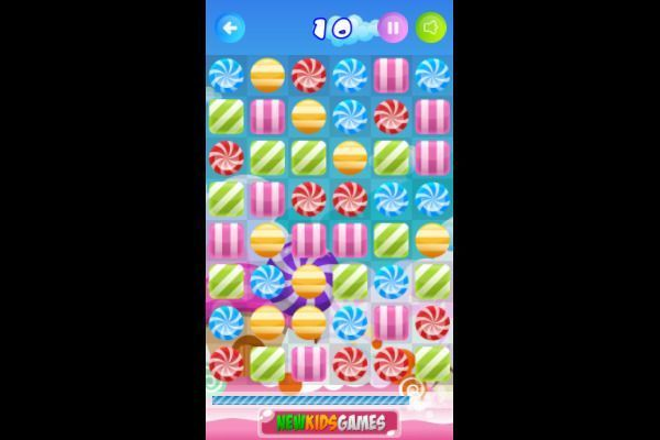 Candy Rush 🕹️ 🍬 | Puzzle Match-3 Kostenloses Browserspiel - Bild 3