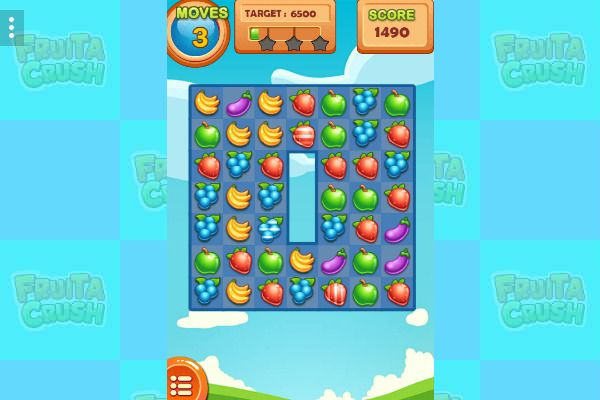 Fruita Crush 🕹️ 🍬 | Free Puzzle Match-3 Browser Game - Image 3