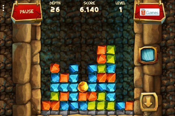 Gold Rush 🕹️ 🍬 | Free Puzzle Match-3 Browser Game - Image 2