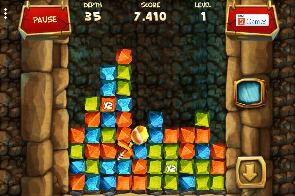 Gold Rush 🕹️ 🍬 | Free Puzzle Match-3 Browser Game - Image 3