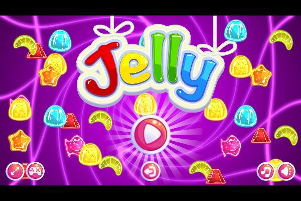 Jelly Classic 🕹️ 🍬 | Puzzle Match-3 Kostenloses Browserspiel - Bild 3