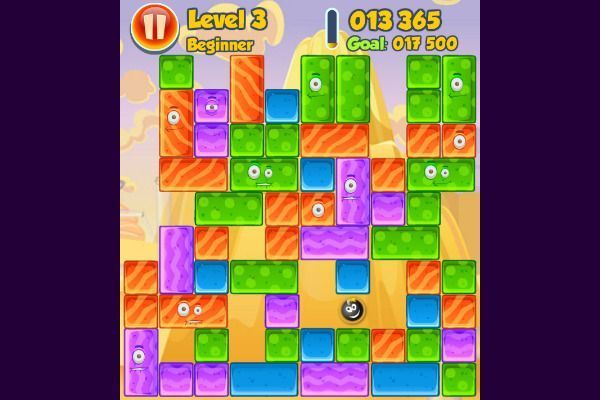 Jelly Collapse 🕹️ 🍬 | Gioco per browser rompicapo match-3 - Immagine 3
