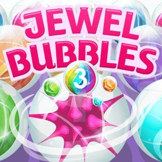 Play Jewel Bubbles 3  🕹️ 🍬