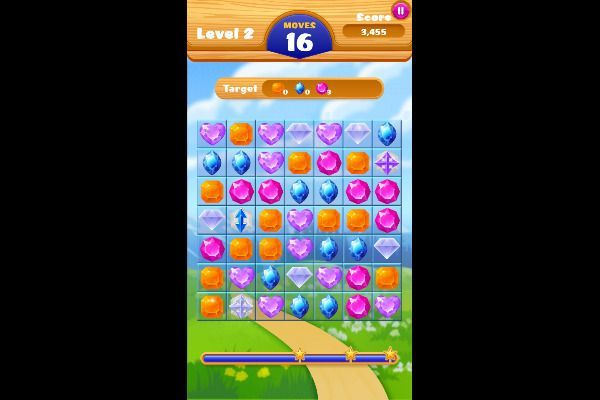 Jewel Crush 🕹️ 🍬 | Free Puzzle Match-3 Browser Game - Image 3