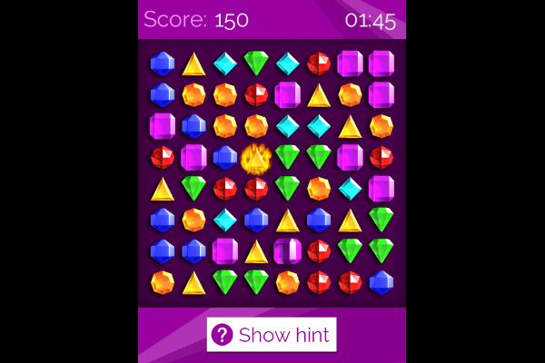 Jewelish 🕹️ 🍬 | Free Puzzle Match-3 Browser Game - Image 2