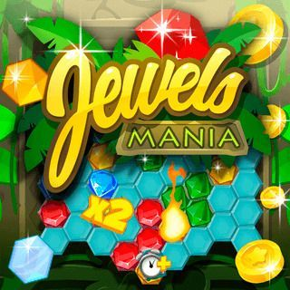 Jouer au Jewels Mania  🕹️ 🍬