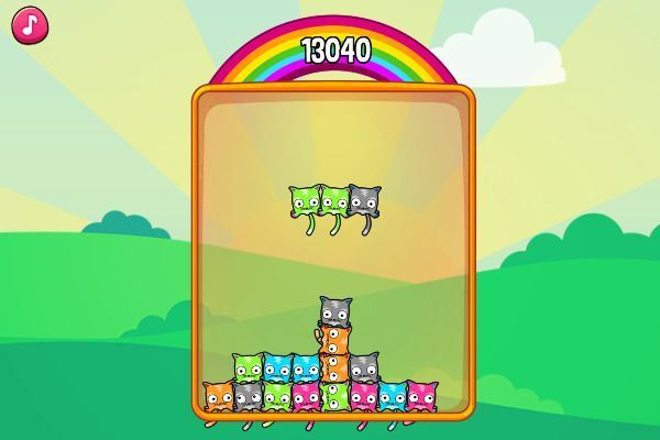 Mewtrix 🕹️ 🍬 | Free Puzzle Match-3 Browser Game - Image 2