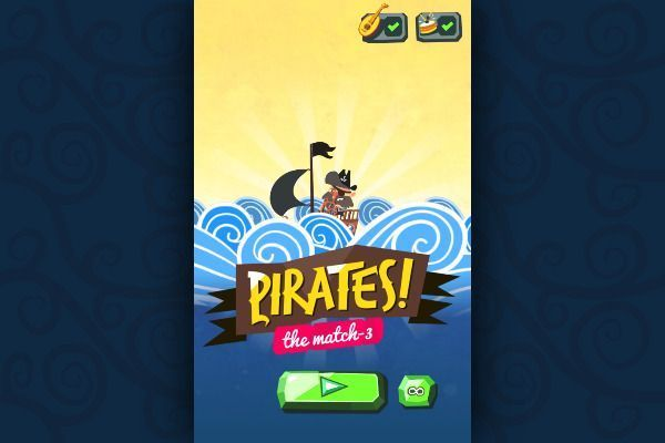 Pirates! The Match 3 🕹️ 🍬 | Jeu de navigateur de puzzle match-3 - Image 1