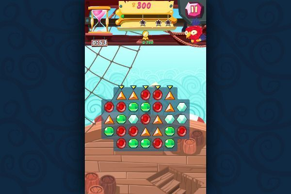 Pirates! The Match 3 🕹️ 🍬 | Jeu de navigateur de puzzle match-3 - Image 3