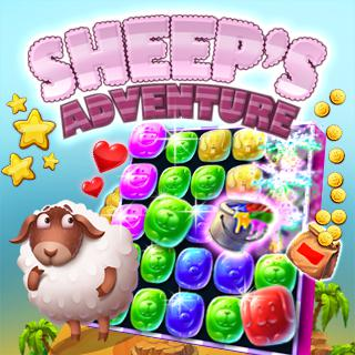 Gioca a Sheeps Adventure  🕹️ 🍬