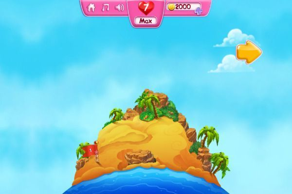 Sheeps Adventure 🕹️ 🍬 | Gioco per browser rompicapo match-3 - Immagine 1