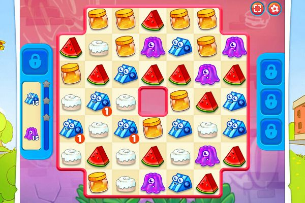 Sugar Heroes 🕹️ 🍬 | Free Puzzle Match-3 Browser Game - Image 1