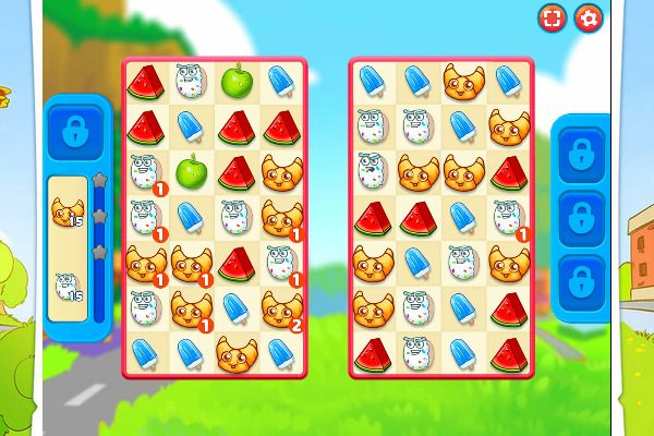 Sugar Heroes 🕹️ 🍬 | Free Puzzle Match-3 Browser Game - Image 2