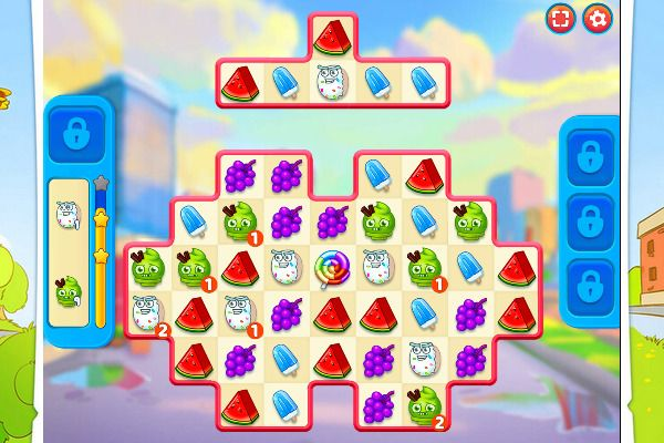 Sugar Heroes 🕹️ 🍬 | Free Puzzle Match-3 Browser Game - Image 3