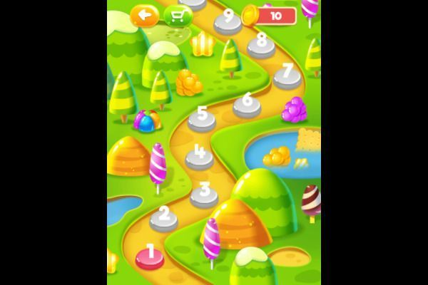 Sweet Candy 🕹️ 🍬 | Free Puzzle Match-3 Browser Game - Image 2