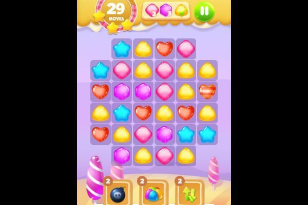 Sweet Candy 🕹️ 🍬 | Free Puzzle Match-3 Browser Game - Image 3