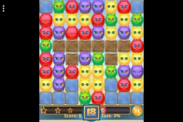 Tabby Island 🕹️ 🍬 | Free Puzzle Match-3 Browser Game - Image 2