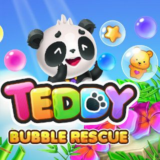Jouer au Teddy Bubble Rescue  🕹️ 🍬